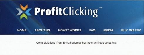 Cara daftar profitclicking 3